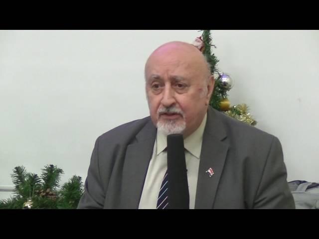 Prawda o agresji na Syrię prezes Klubu Syryjskiego Nabil Al Malazi