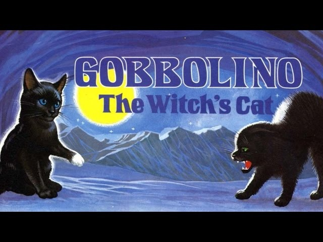 Gobbolino the Witch's Cat. Nursery Rhymes. Audiobook - English Rhymes. Fairy Tales. Childrens books.
