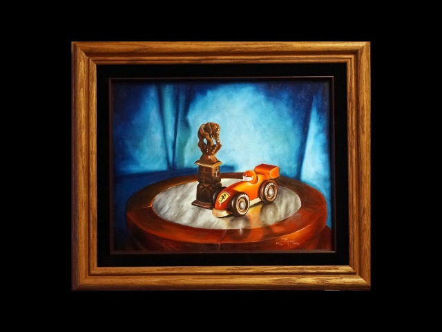 How to paint realism still life in oil, full version , speedX2, Fundraising Project