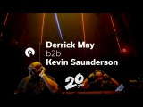 Kevin Saunderson &amp Derrick May @ Awakenings 20 (BE-AT.TV)
