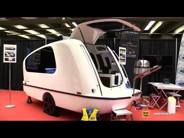 2017 Sealander Floating Caravan - Walkaround - 2017 Montreal Boat Show