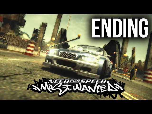Need for Speed Most Wanted 2005 ENDING Gameplay Walkthrough - FINAL PURSUIT RAZOR