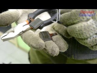 Замена колодок на дисковых тормозах Shimano BR-M445