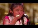 Angelica Hale: GOLDEN BUZZER after Burning Down AGT with GIRL ON FIRE | America's Got Talent 2017