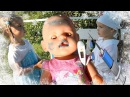 Играем в Доктора Эльза и Беби Бон Доктор Плюшева Делает УКОЛ DOC MCSTUFFINS Vs FROZEN ELSA Bad Baby