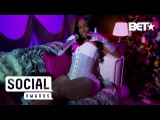 Kash Doll Gives Cookie Lyon Realness In Floor-Length Fur BET Social Awards