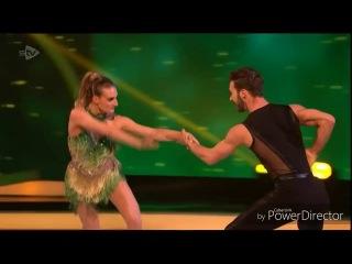 Gabriella Papadakis and Guillaume Cizeron skating in Dancing on Ice: Semi Final (4/3/18)