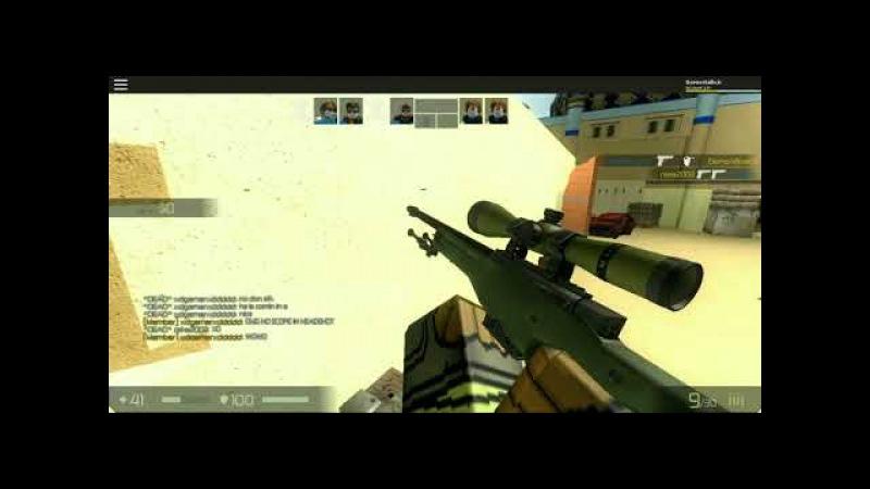 CB:RO Counter Blox Roblox Offensive-Играю с нубами на одной волне