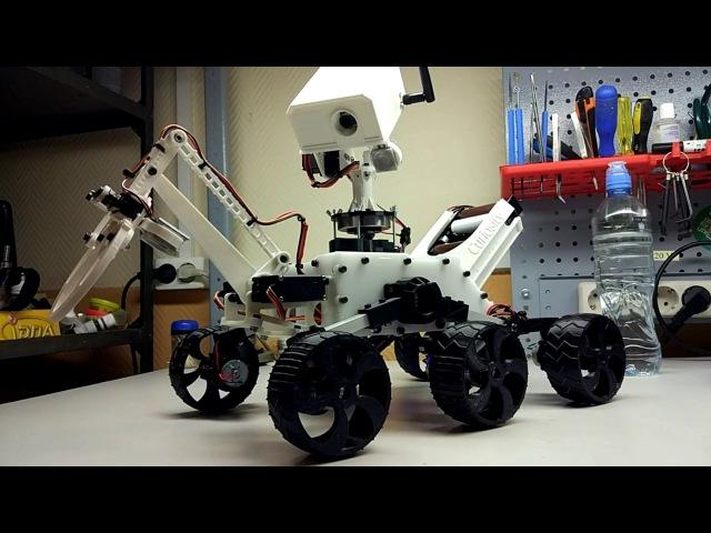 Улучшенная модель марсохода MSL Curiosity