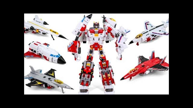Transformers Aerialbots Superion TFC KO Oversized Uranos Combiner Robots AirFighter Toys