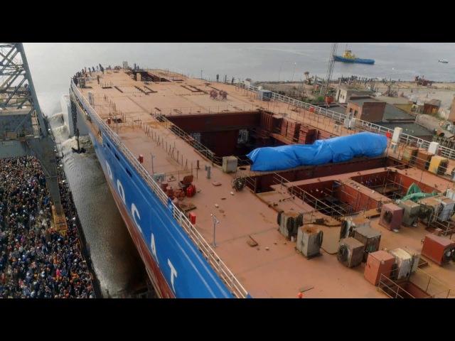 Второй самый большой атомный ледокол в мире Сибирь