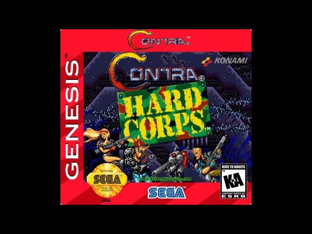 Contra: Hard Corps - Обзор (sega)