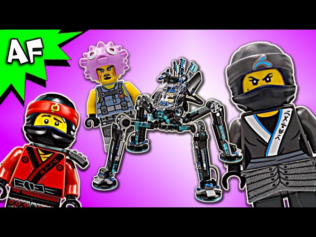 Lego Ninjago Movie: Nya's WATER STRIDER 70611 Animation Speed Build