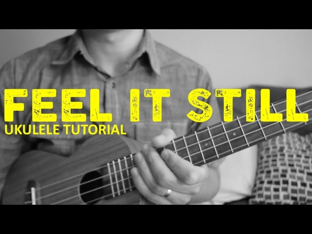 Feel It Still - Portugal the Man - EASY Ukulele Tutorial - Chords - How To Play