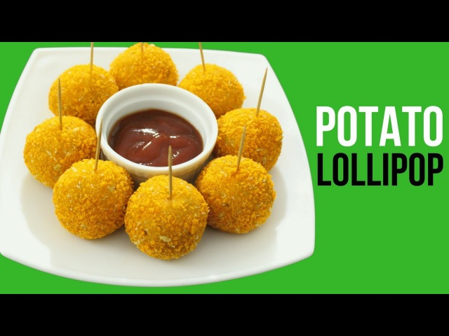 Potato Lollipop Recipe Potato Balls Snacks For Kids Aloo Snacks Homemade Potato Lollipop