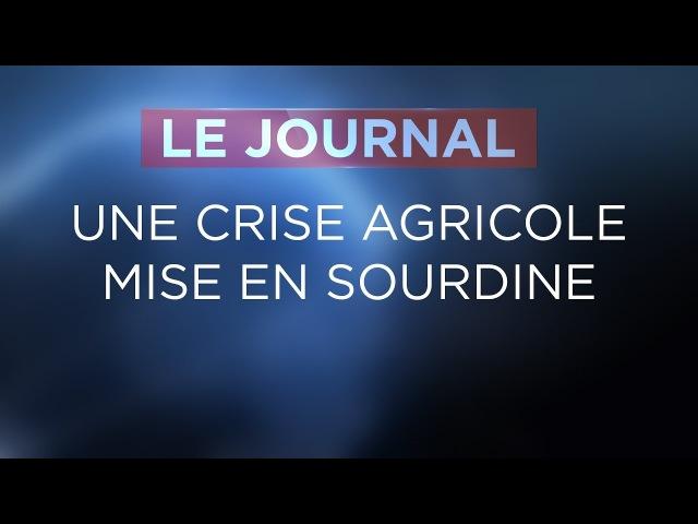 Une crise agricole mise en sourdine - Journal du Lundi 12 Février 2018