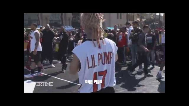 Lil Pump scores 30 Points during ALL STAR WEEKEND, proves he can ball