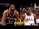 Rookie Michael Jordan Sick Move on 7-2 Giant James Donaldson! Bulls vs Clippers 1985