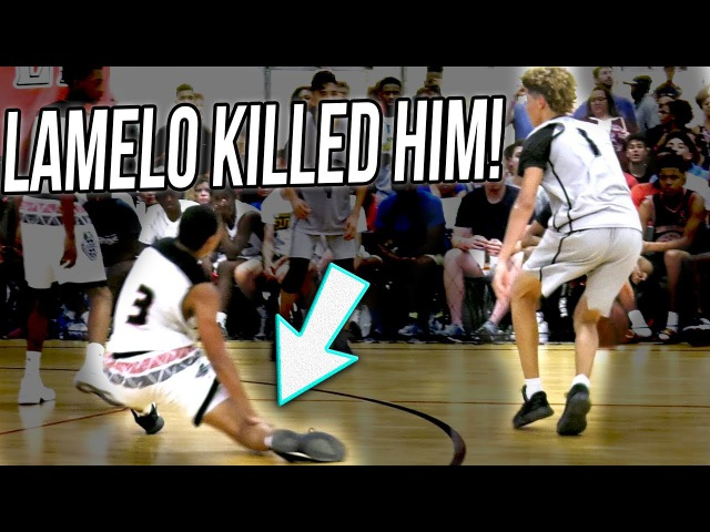 LaMelo Ball DROPS OFF DEFENDER HITS 3! What REALLY Happened (UNEDITED VERSION)
