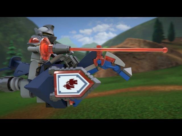 Конструктор LEGO NexoKnights 70316 Джестро-мобиль vs 70317 Фортрекс - мобильная крепость