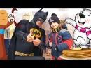 Веселая МАСЛЕНИЦА Развлечения Для Детей! Смешная КОРОВА ХОТЕЛА УКРАСТЬ Глеба!😂 Park for Children