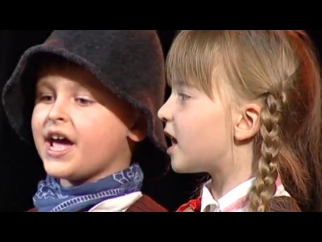 Žemaitiška vaikų liaudies daina Žvirbleli tu maželi Samogitian children's folk song