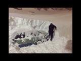 Снегопад в Норильске, Россия 16-18.12.2017 | Snowfall in Norilsk, Russia | ノリリスク、ロシアの降雪