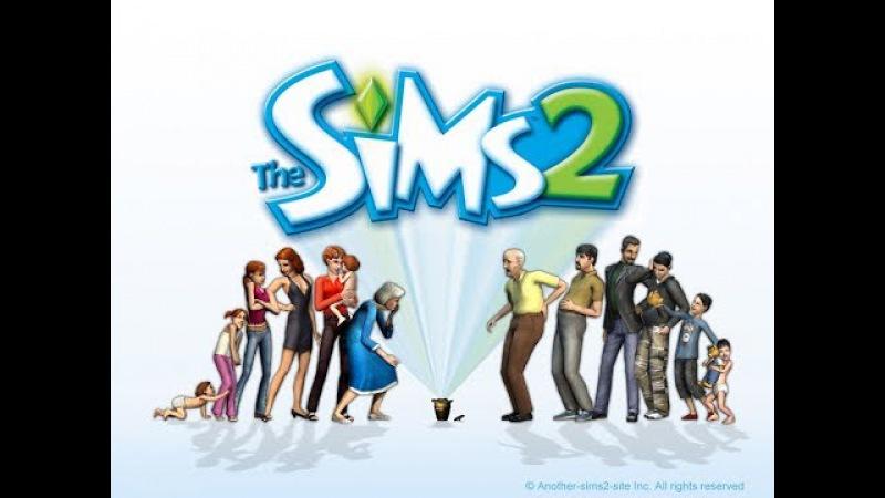 Жизнь в Sims 2 6 Первая Брачная ночь Мортимера и Kiti