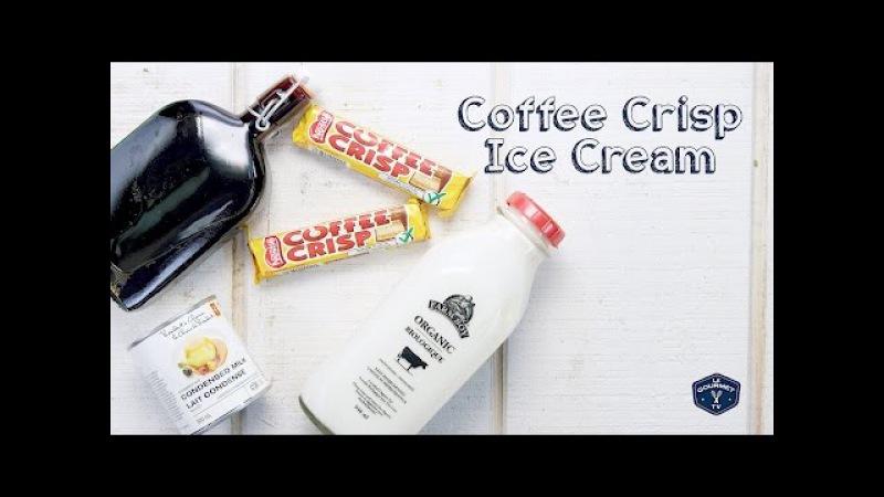 Amazing Coffee Crisp No Churn Ice Cream Le Gourmet TV Recipes