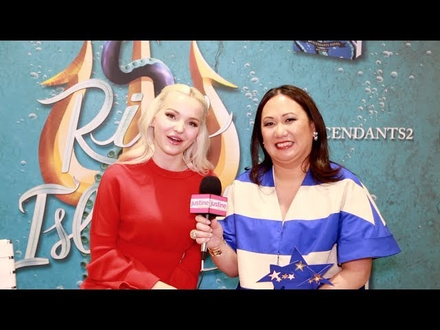 Justine Magazine Melissa de la Cruz Dove Cameron On Rise of the Isle of the Lost Harry Hook