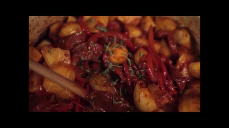 Картофель с чоризо тушеные по-риохски от Омара Аллибой