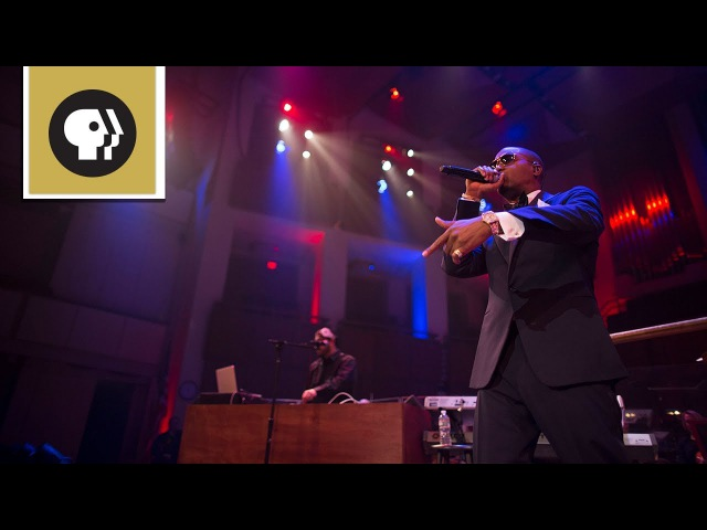 Nas Performs One Love with the National Symphony Orchestra