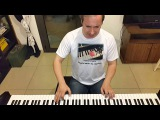 Сиреневый туман (Кондуктор не спешит) Владимир Маркин - вокал и пианино кавер piano cover