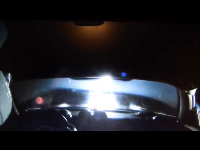 UFO's Flying Past The SpaceX's Starman's Tesla?