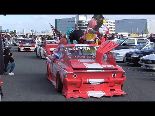 *旧車* はろーすぺしゃる10周年記念チャリティーイベント パレー124