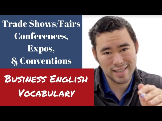 Trade Shows and Conferences Vocabulary | Business English Lesson