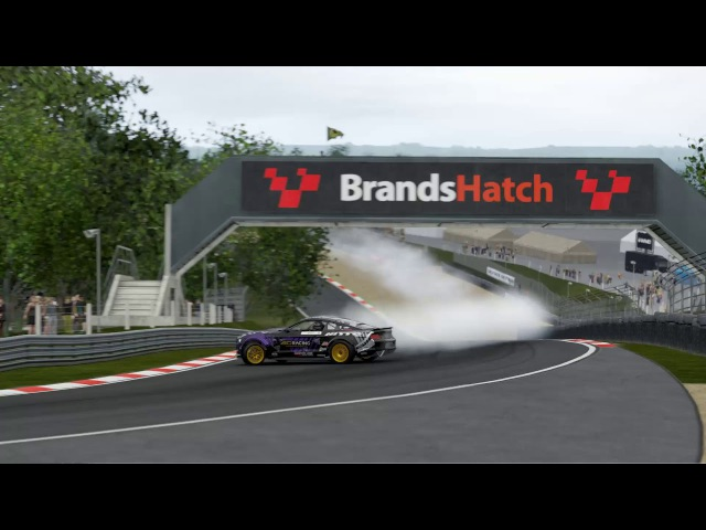 Project Cars 2 Ford Mustang RTR 5D brands hatch drifting
