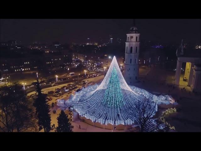 Самая красивая елка Европы 2017/2018, Вильнюс Vilnius Christmas Tree 2017