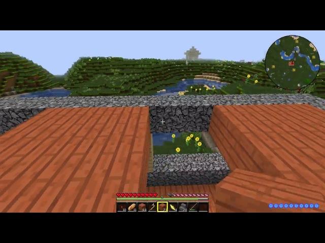 Evil adventure in Minecraft - 4 Постройка дома (финал)