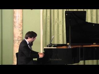 Franz Schubert - Fantasie f-minor op.103 Alexander Andreyev, Yulia Getallo
