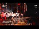 MFBTY ft. LE (EXID) Suga Rap Monster (BTS) Baro (B1A4) - Monster @ SBS 2015 Dream Concert