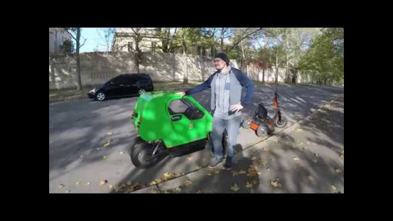 Custom DIY electric car! Самодельный электромобиль не требующий регистрации!