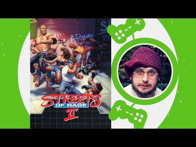 Streets Of Rage 2 / Sega Genesis / 1