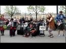 Wild-wild village -Rolling my sweet baby's arms ,народная Street music day | СПб 20.05 2017