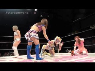 Hiromi Mimura, Konami vs. Shiki Shibusawa, Starlight Kid (STARDOM - Shin-Kiba 1st RING)