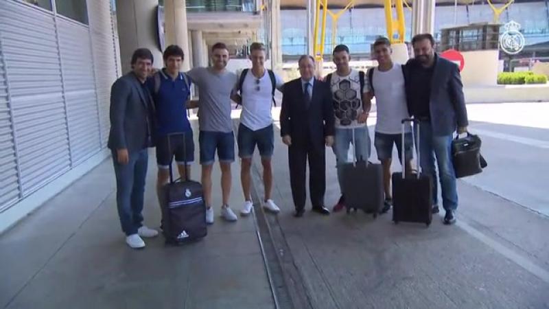 Рауль летит в Лос-Анджелес