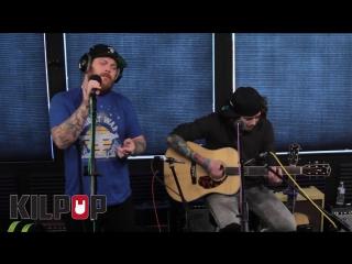 Asking Alexandria Vultures acoustic session at KBPI in Denver