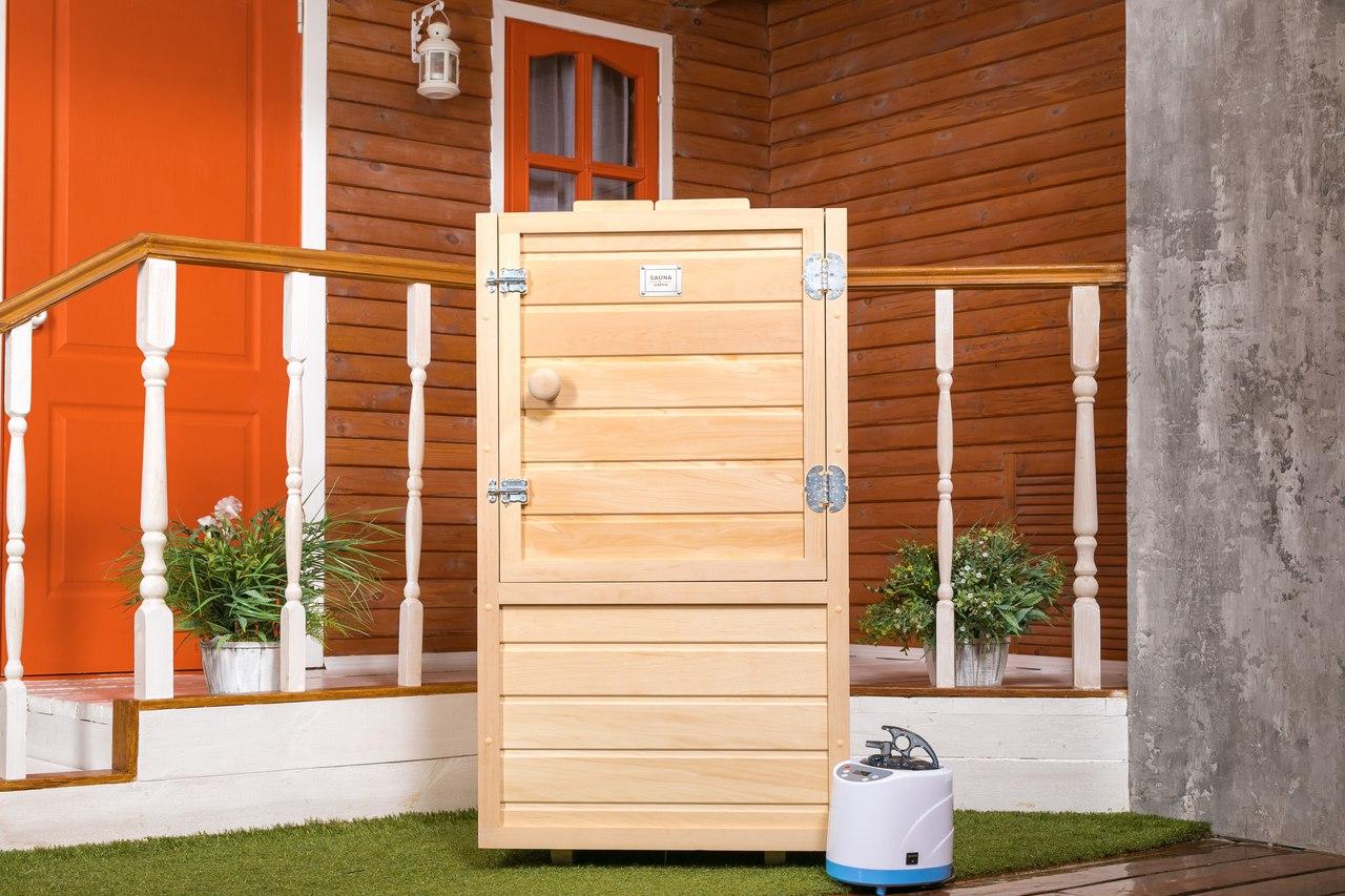 Мобильная мини-сауна Sauna-by-Siberia в Краснодаре, купить мини-сауну, сауну-бочку