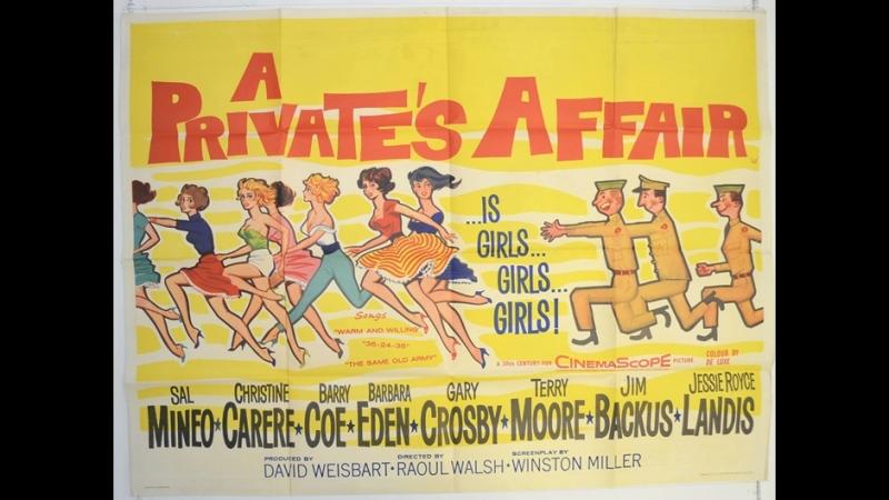 A Private's Affair (Negocios del Corazon) (1959) (Español)