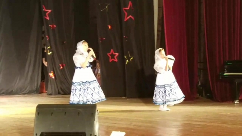 Три сестры! Выступление на гала-концерте международного фестиваля Салют талантов